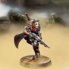 Badass (Shotgun, Medium blade and Metallic armor)