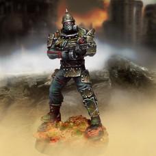 Übersoldat (shotgun, metallic armour and biohazard protection)