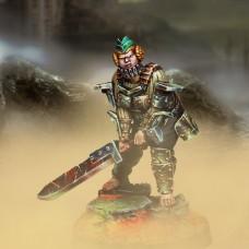 Übersoldat (heavy blade and metallic armour)